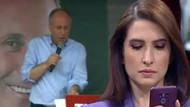 Muharrem İnce'nin yayını aniden kesilince CNN Türk spikeri Başak Şengül fena yakalandı