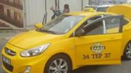 Uber sürücüsünü tehdit eden taksiciler aranıyor