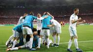 Şampiyonlar Ligi şampiyonu yine Real Madrid! Peş peşe 3. kez...