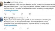 Taksicilerin kışkırtmasıyla UBER'in engellenmesi sosyal medyada tepki gördü