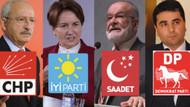 4 partinin ittifakının ismi belli oldu: Millet İttifakı