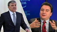 Seçim sonrası Abdullah Gül ve Ali Babacan planı