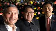 Kim Jong un tarihi zirve öncesi Singapur'da