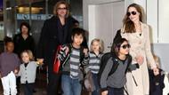 Angelina Jolie çocuklarını Brad Pitt'e kaptırabilir