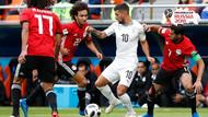 Uruguay Mısır karşısında son dakikada kazandı