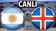 Dünya Kupası Arjantin İzlanda maçı canlı izle