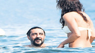 Celil Nalçakan ve Ceren Kahyaoğlu aşkı Bodrum'da ortaya çıktı