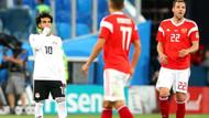 Muhammed Salah Mısır'ı kurtaramadı: Rusya 3 - 1 Mısır