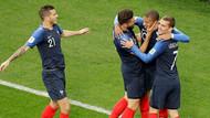 Fransa'ya 3 puanı 19'luk Mbappe getirdi: Fransa 1-0 Peru