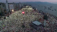 İzmir mahşer yeri! Muharrem İnce'nin İzmir mitinginde büyük coşku vardı
