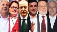 Seçime 24 saat kala son anket: Erdoğan ve İnce ikinci tura kalıyor