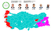 CHP'nin Adil Seçim platformuna göre Erdoğan 52,56, İnce 31,34
