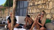 Selin Ciğerci sevgilisi Gökhan Çıra ile tatilde