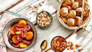 Sağlıklı yaşamın yolu günlük 28 gram kuru meyve