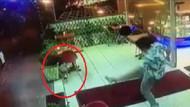 İzmir Karşıyaka'da kediye tekmeli saldırı kamerada