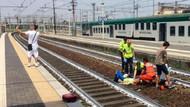 Tren kazasında selfie çeken adam İtalya'da öfke yarattı