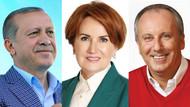 SONAR'dan bomba seçim anketi: Erdoğan 48,3 İnce 31,4 Akşener 9,5