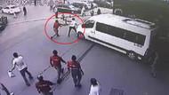 Beylikdüzü'nde polis minibüsçülerin saldırısına uğradı