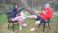 Polonyalı futbolcu Pazdan güzel sunucuyu son anda kurtardı