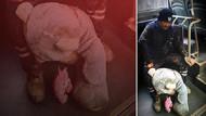 Çöpten bulduğu peluş ayıyı çocuğuna götüren Ali Yener'e Belediye ulaştı