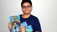 11 yaşında kitap çıkaran Ahmet Aras gelirini LÖSEV'e bağışladı