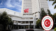 Dışişleri Bakanlığı'ndan ABD ile görüşme açıklaması: Adli ve hukuki meseleler...