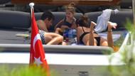 Emre Belözoğlu ailesi ile Bodrum'da tatil yapıyor