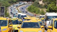 UBER Bodrum'u karıştırdı! Taksicilerden UBER eylemi