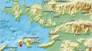 Son dakika: Kuşadası Körfezi'nde korkutan deprem: Tatilciler panikledi