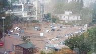 Yunanistan yangının şokunu atlatamadan sel felaketiyle sarsıldı