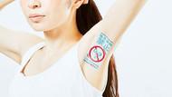 Japonya'da kadınların koltuk altları reklam panosu oldu