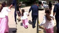 Küçük kıza icra! Annesine böyle götürdüler…