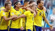 Dünya Kupası'nda İsveç'den büyük başarı
