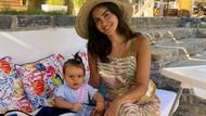 Volkan Demirel'in eşi Zeynep Demirel doğum kilolarından kurtuldu