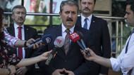 Kesin seçim sonuçlarına itiraz eden Mustafa Destici'ye YSK'dan ret