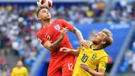 İsveç'i 2-0 yenen İngiltere yarı finale yükseldi