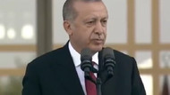 Erdoğan Başkanlık töreni konuşmasına dua ederek başladı