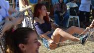 Hamak Festivali'nde ortaya ilginç görüntüler çıktı