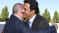 Erdoğan ile Katar Emiri Al Sani arasında samimi görüntüler