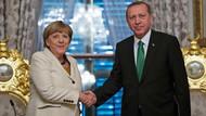 Son dakika: Erdoğan Almanya Başbakan'ı Merkel ile görüştü