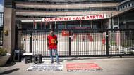 CHP önünde açlık grevi: CHP sürekli olarak hak, hukuk, adalet diyor, adalet bunun neresinde?