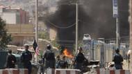 Afganistan Cumhurbaşkanlığı Sarayı'na canlı yayında roketli saldırı