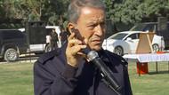 Hulusi Akar Erdoğan'ın askerlere mesajını iPhone ile iletti