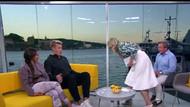 Norveçli TV sunucusu Linn Wiik konuğunun üstüne kustu!