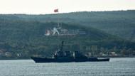 ABD'nin füze güdümlü savaş gemisi Çanakkale'den geçti