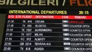 KKTC'de Havalimanı grevi uçak seferlerini durdurdu