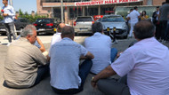 CHP'li delegelerden Genel Merkez önünde oturma eylemi