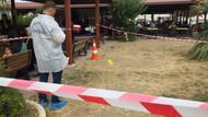 Hastane bahçesinde silahlı kavga! Ortalık savaş alanına döndü