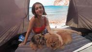 Fulya Zenginer hayatının tatilini gerçekleştirdi