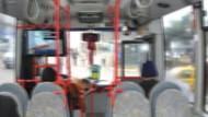 Otobüsteki genç kızların kabusu oldu! Tacizci durmak bilmedi